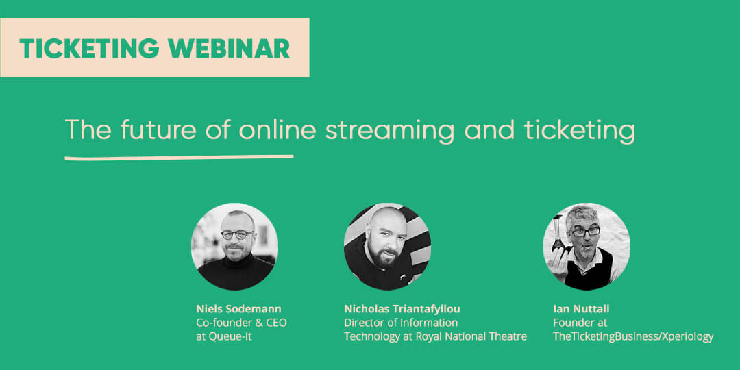 Webinar future of online streaming & ticketing
