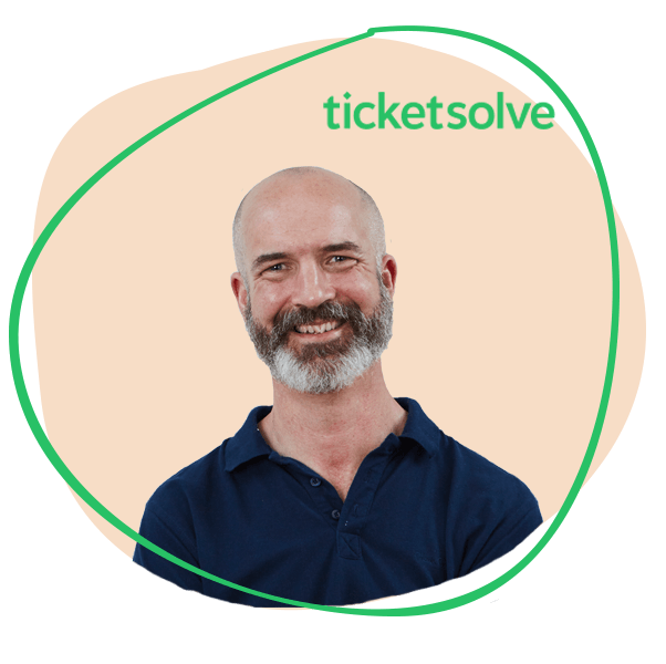 Queue-it quote from Sean Hanly, CEO, TicketSolve