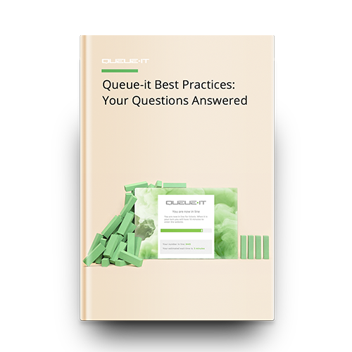 Cover of Queue-it Best Practice Guide
