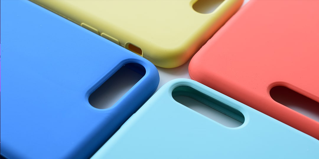 colorful iPhone covers