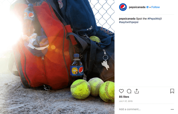 Pepsi Canada influencer marketing campaign