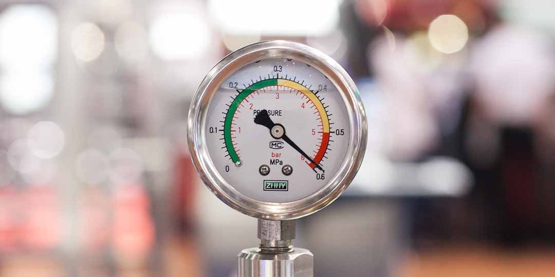 pressure tester on high
